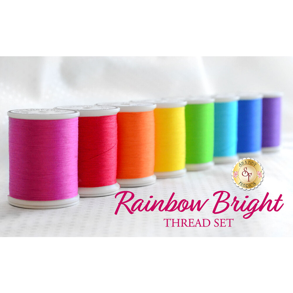 Rainbow Bright  8pc MasterPiece Thread Set