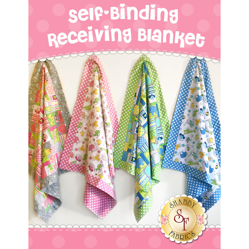 Self-Binding Receiving Blanket Kit -  Video Project