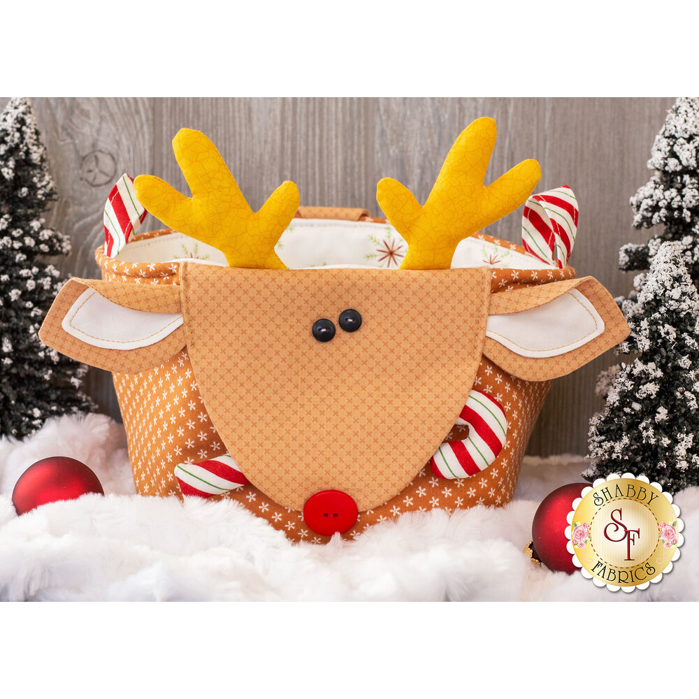 Handy Baskets for the Holidays - Reindeer Kit