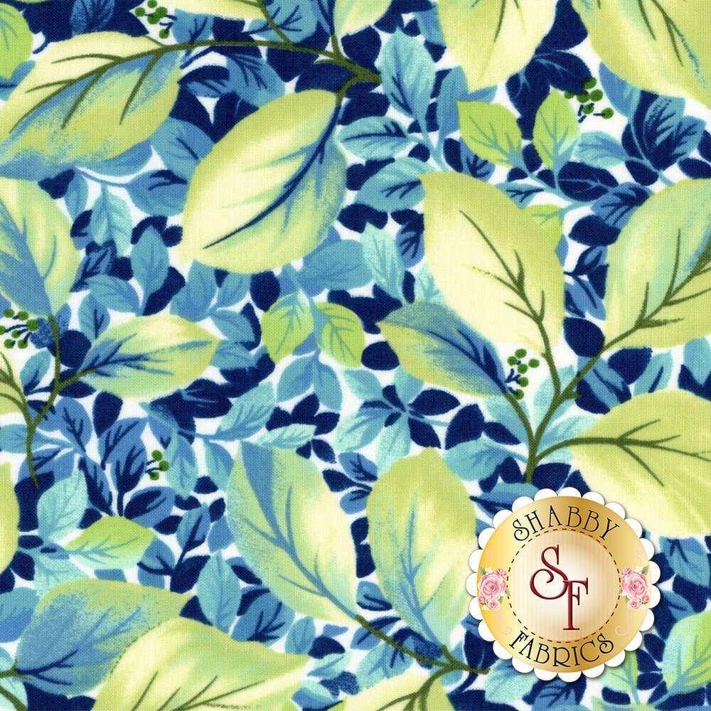 Rejuvenation 90306-Q Teal Foliage