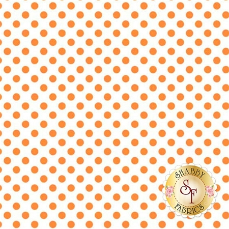 Small Dot C480-60 Orange by Riley Blake Designs