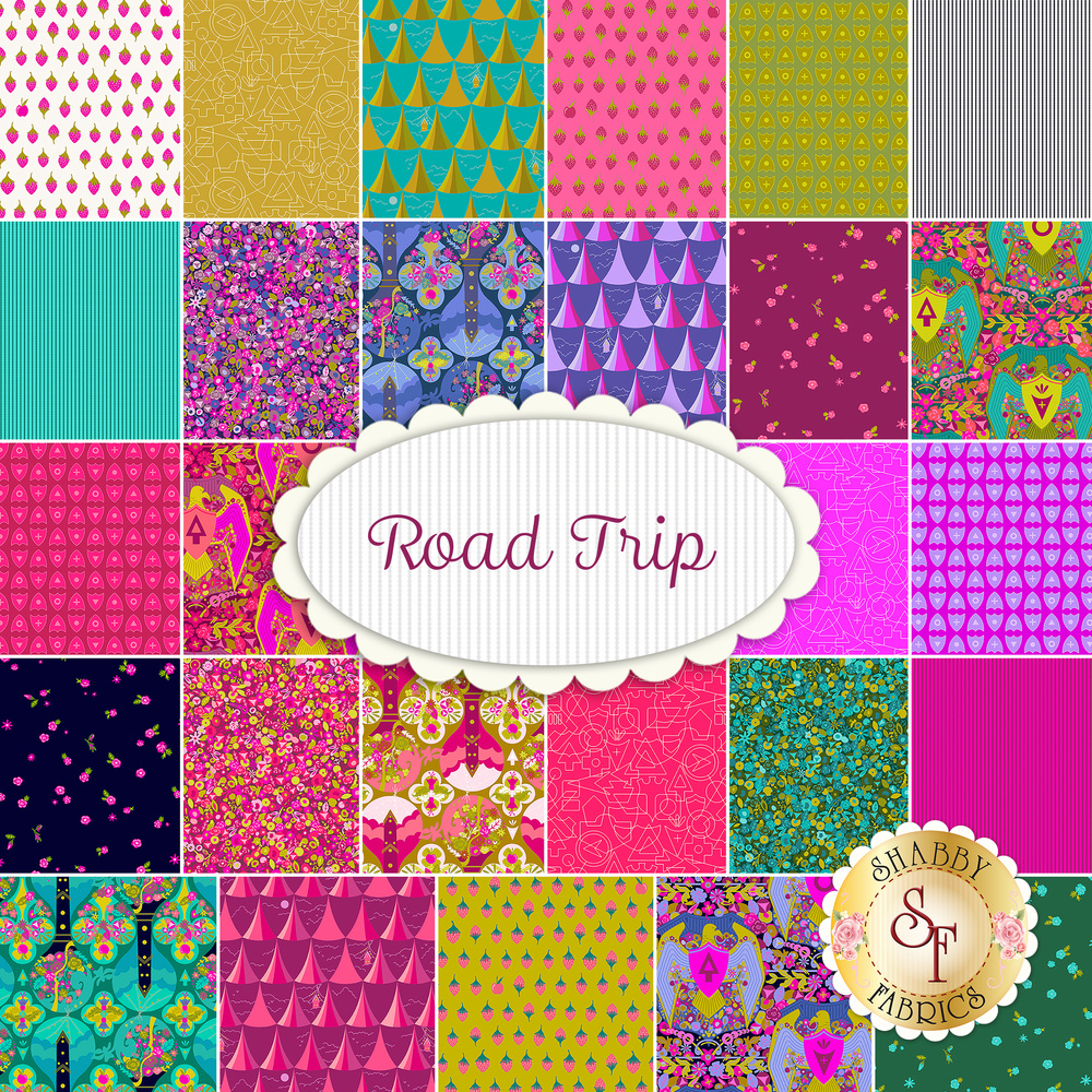 Road Trip  Yardage by Andover Fabrics