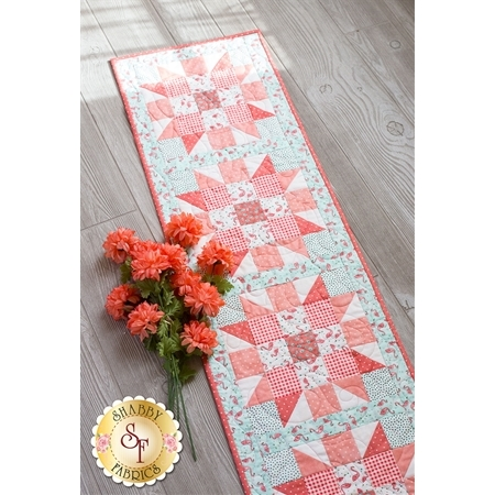 Sister's Choice Table Runner Pre-Cut Kit - Roam Sweet Home