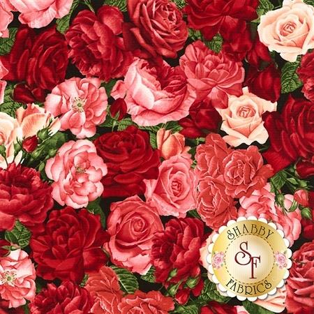 Rose Garden C5815-Rose by Timeless Treasures Fabrics