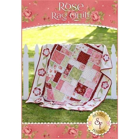 Flannel Rose Rag Quilt Kit