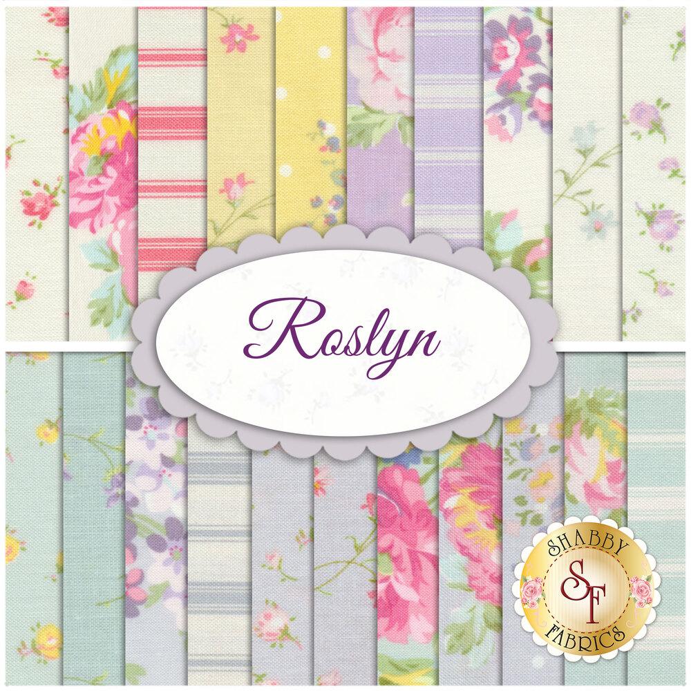 Roslyn 21 Fat Quarter Set by Windham Fabrics