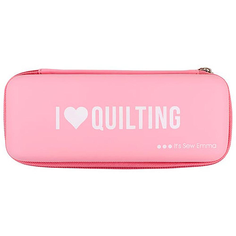 It's Sew Emma Rotary Cutter Case - Pink | Shabby Fabrics