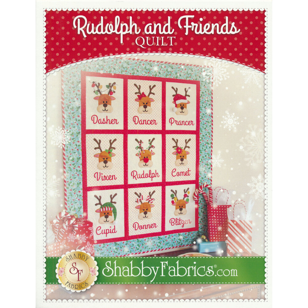 Rudolph and Friends Quilt Pattern
