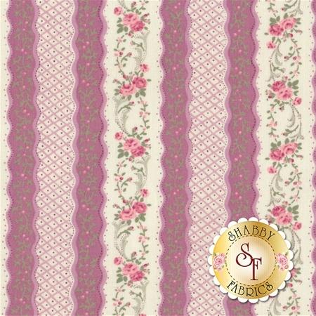 Ruru Bouquet Classic RU2290Y-13D by Quilt Gate Fabrics - REM