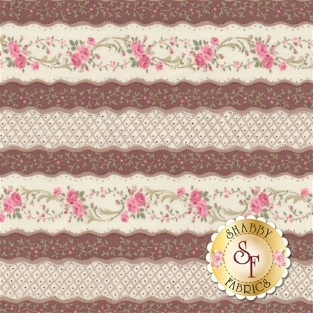 Ruru Bouquet Classic RU2290Y-13E by Quilt Gate Fabrics