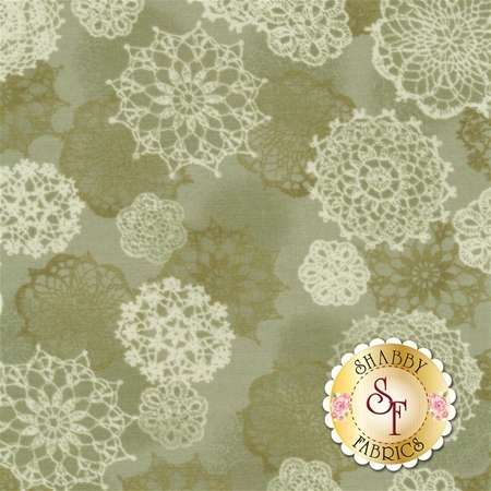 Ruru Bouquet Classic RU2290Y-16C by Quilt Gate Fabrics