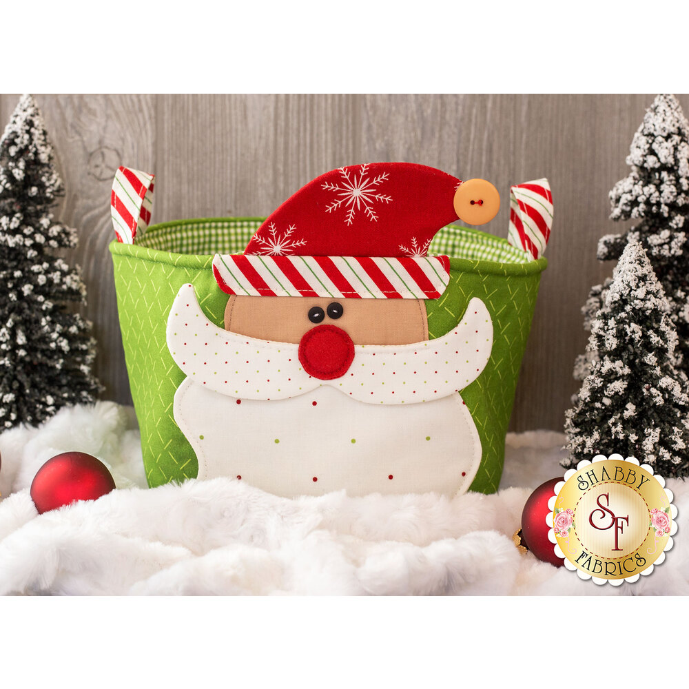 Handy Baskets for the Holidays - Santa Kit