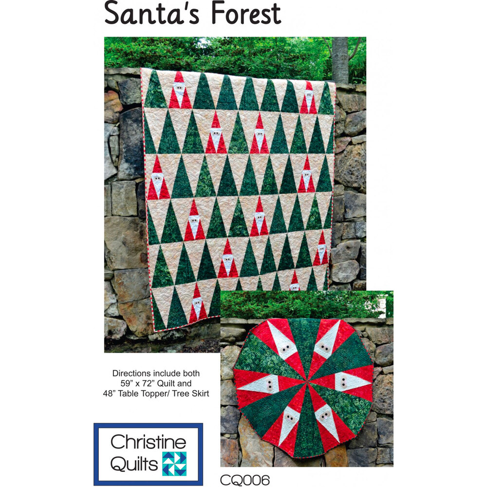 Santa's Forest Pattern