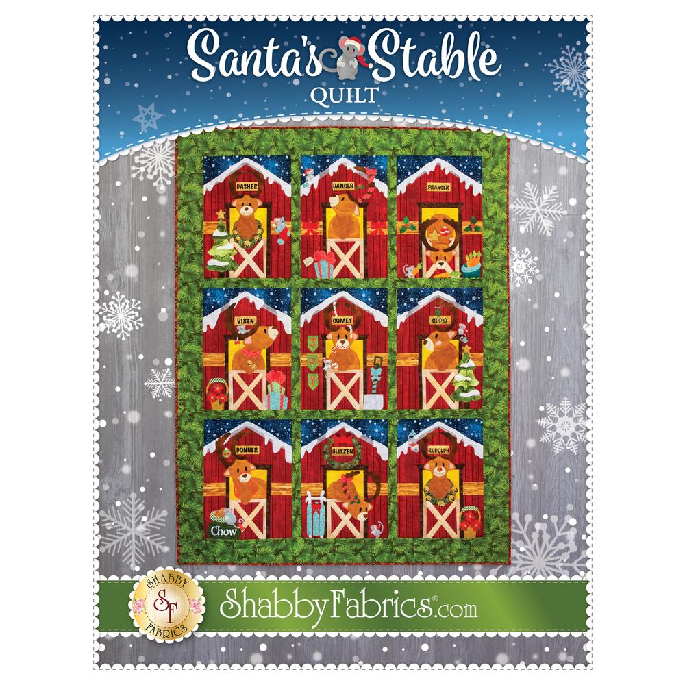 Santa's Stable - Pattern