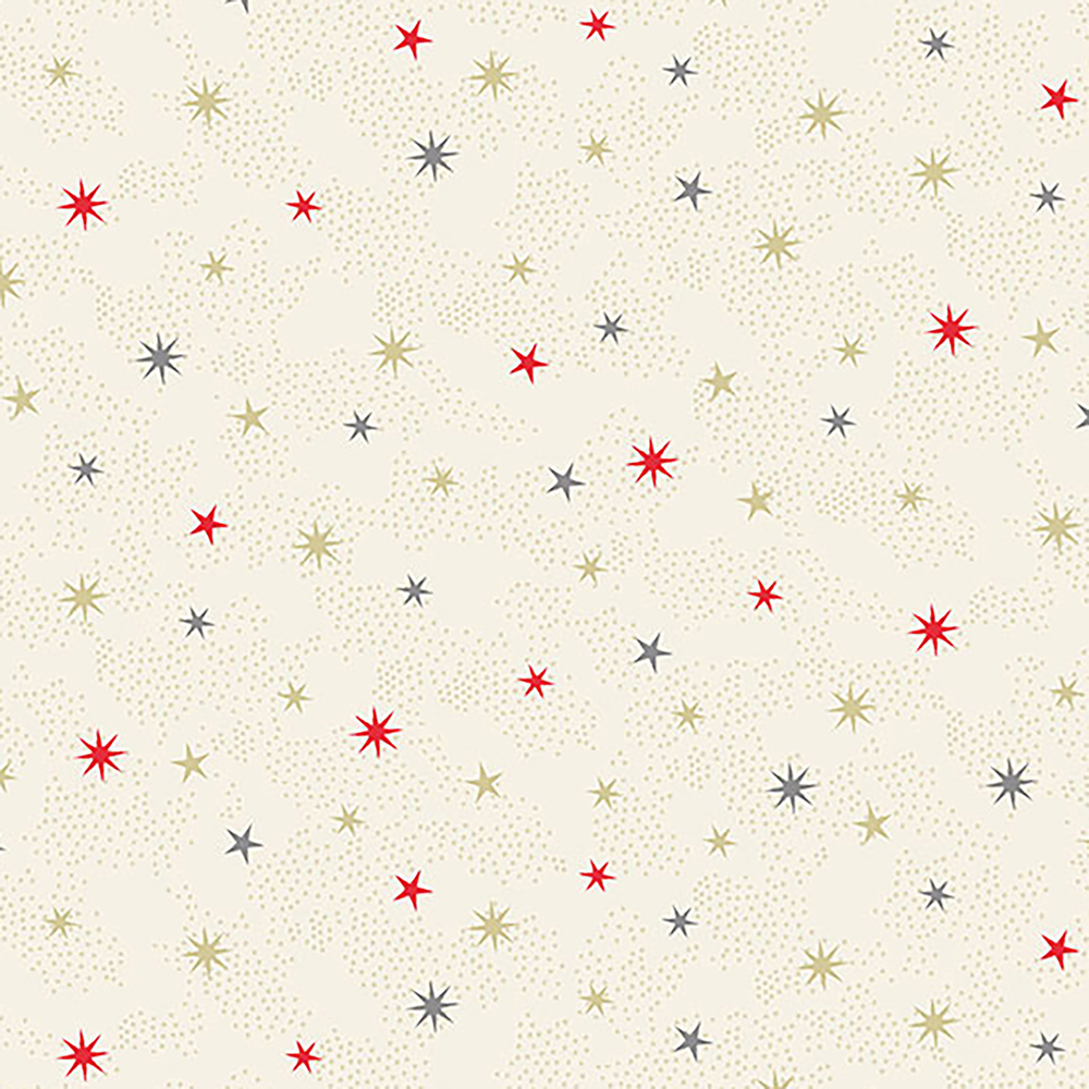Scattered stars on a white background