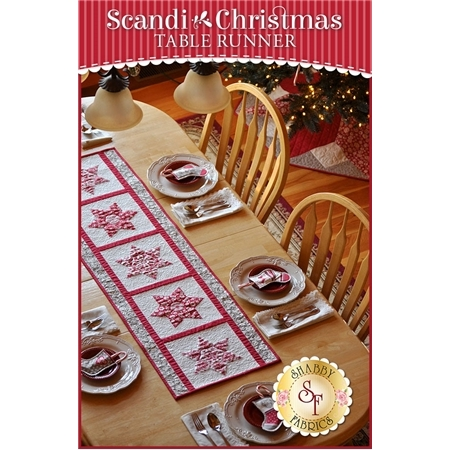 Scandi Christmas Table Runner Pattern