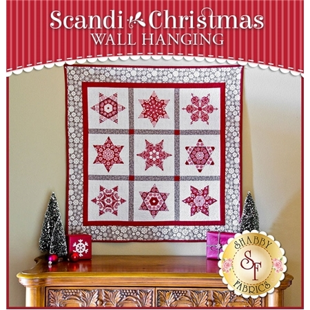 Scandi Christmas Wall Hanging Pattern