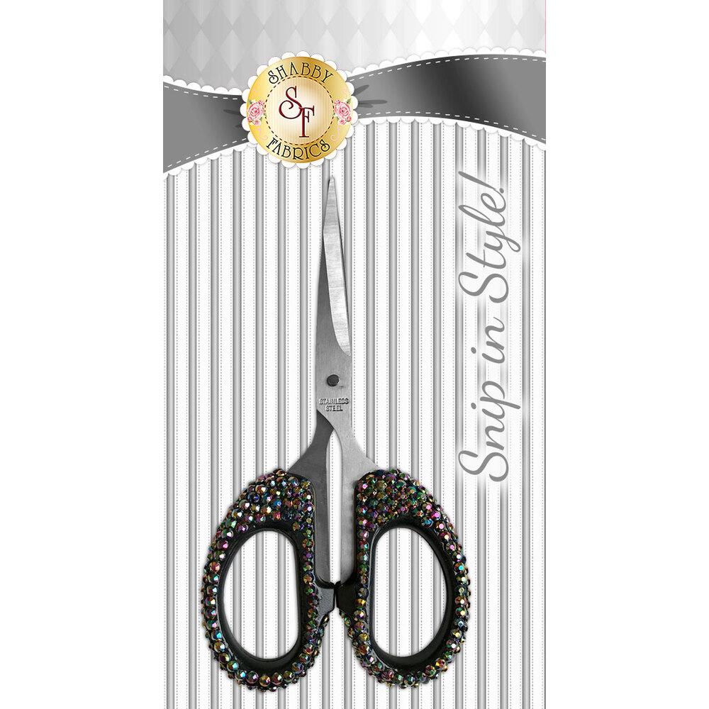 Snip In Style - Black Iridescent Scissors