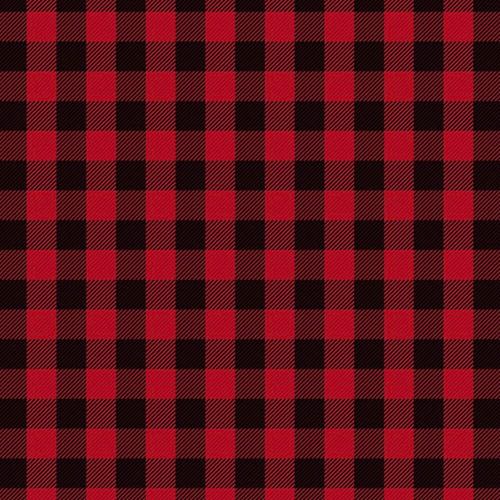 Black and red plaid | Shabby Fabrics
