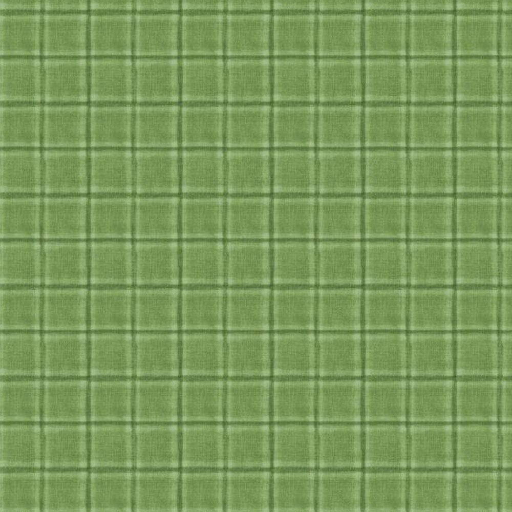 Tonal green plaid | Shabby Fabrics