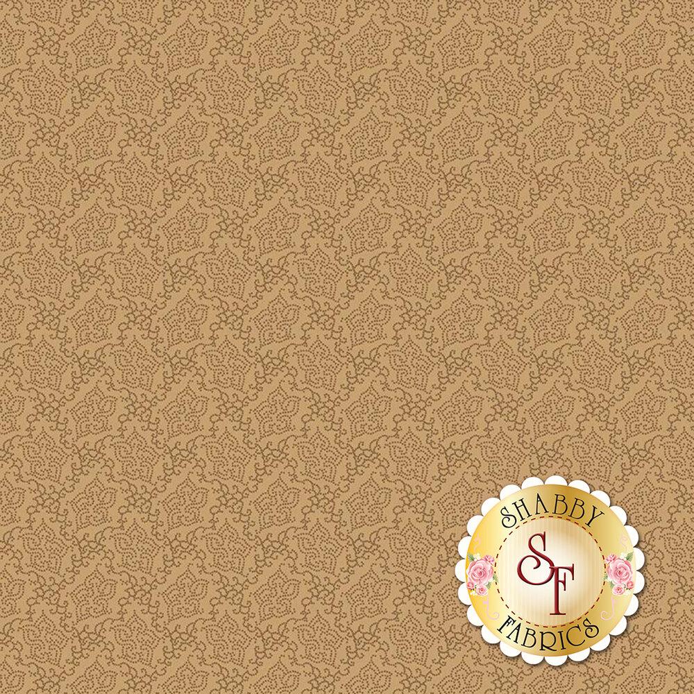 Tonal tan floral | Shabby Fabrics