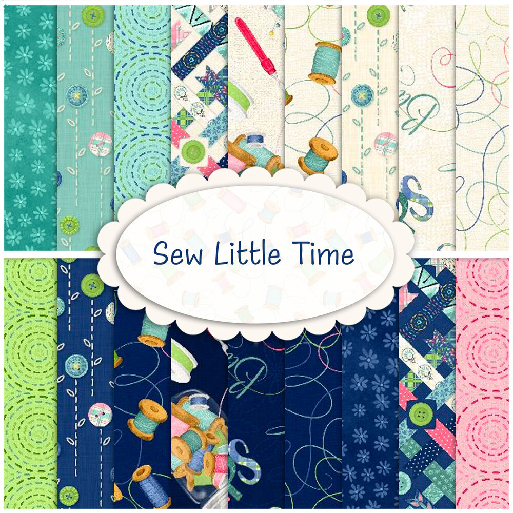 Sew Little Time  Yardage by Wilmington Prints