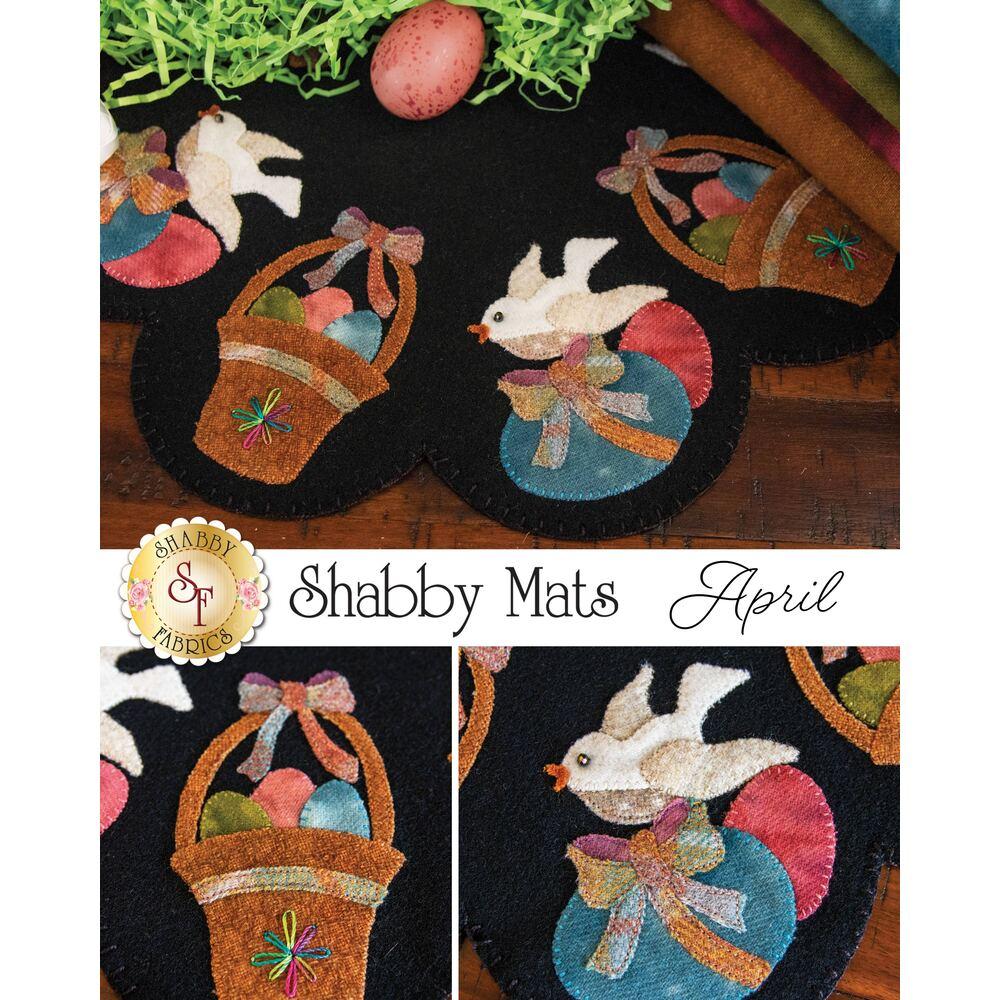 Shabby Mats - April - Wool Kit