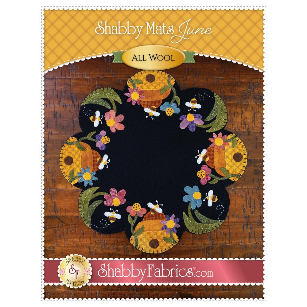 Shabby Mats - June Front Pattern Cover | Shabby Fabrics