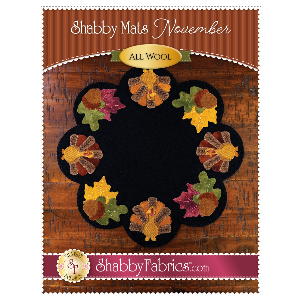 Shabby Mats - November - Pattern
