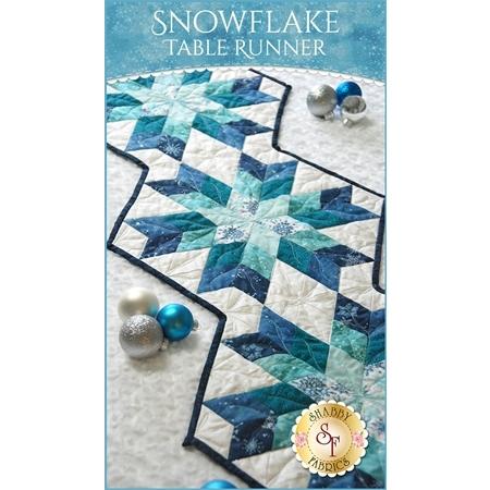 Snowflake Table Runner Kit