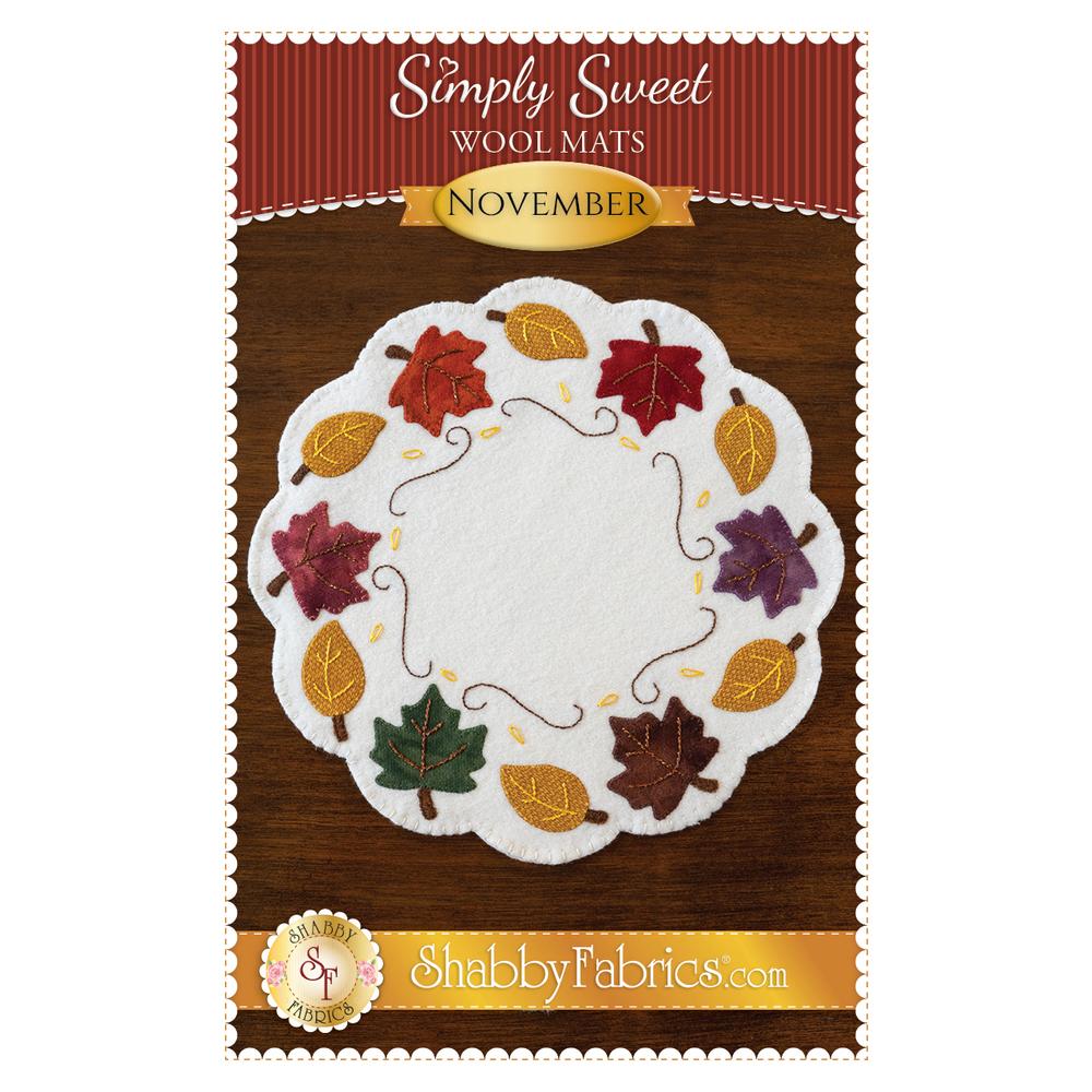 Simply Sweet Mats - November - Pattern
