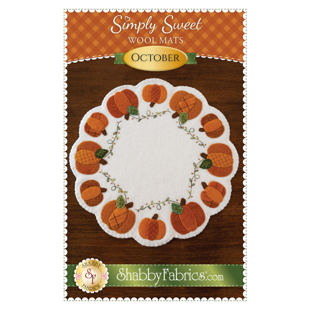 Simply Sweet Mats - October - Pattern