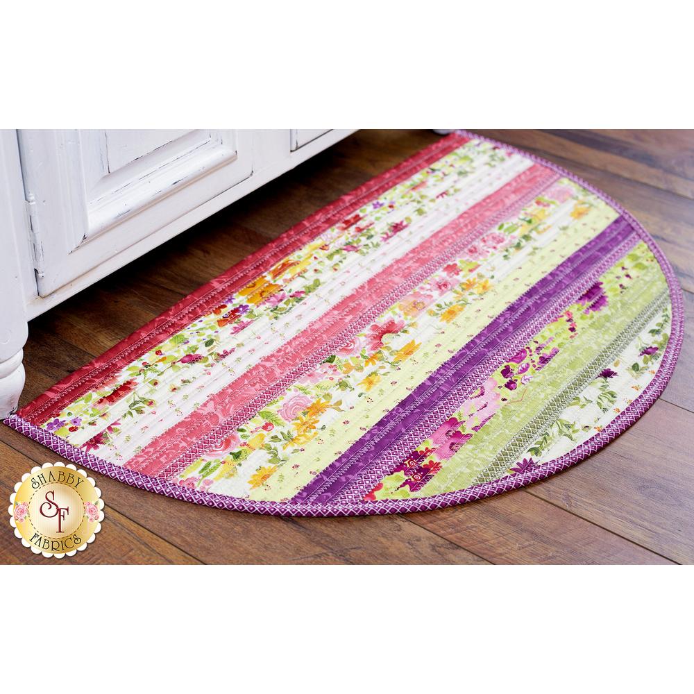 Fresh Picked Slice Rug displayed | Shabby Fabrics