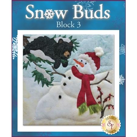 Snow Buds Quilt - Laser-cut Block 3 Kit