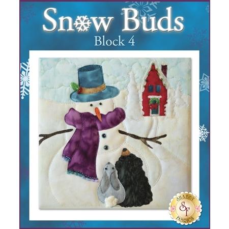 Snow Buds Quilt - Laser-cut Block 4 Kit