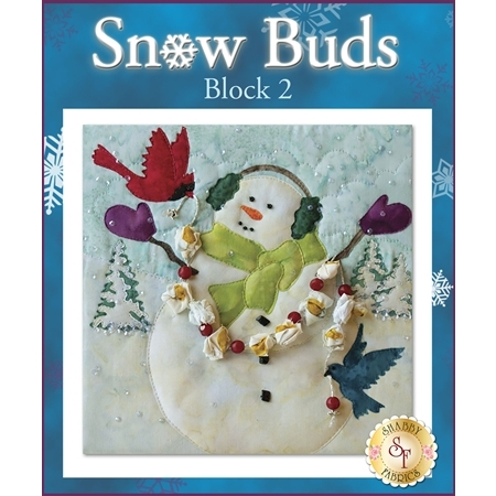 Snow Buds Quilt - Laser-cut Block 2 Kit
