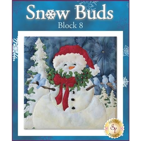 Snow Buds Quilt - Laser-cut Block 8 Kit