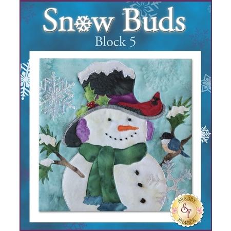 Snow Buds Quilt - Laser-cut Block 5 Kit