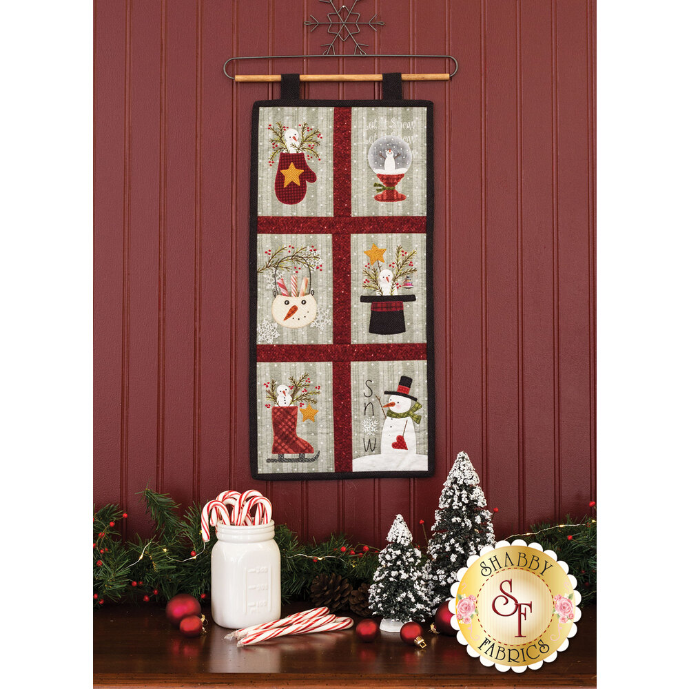 Snow Days Wall Hanging  - Pre-Fused & Laser-Cut Kit