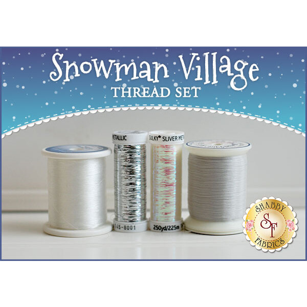 Snowman Village Series Thread Set