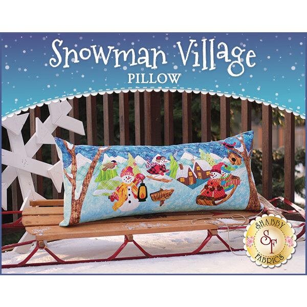 Snowman Village Series Pillow Pattern