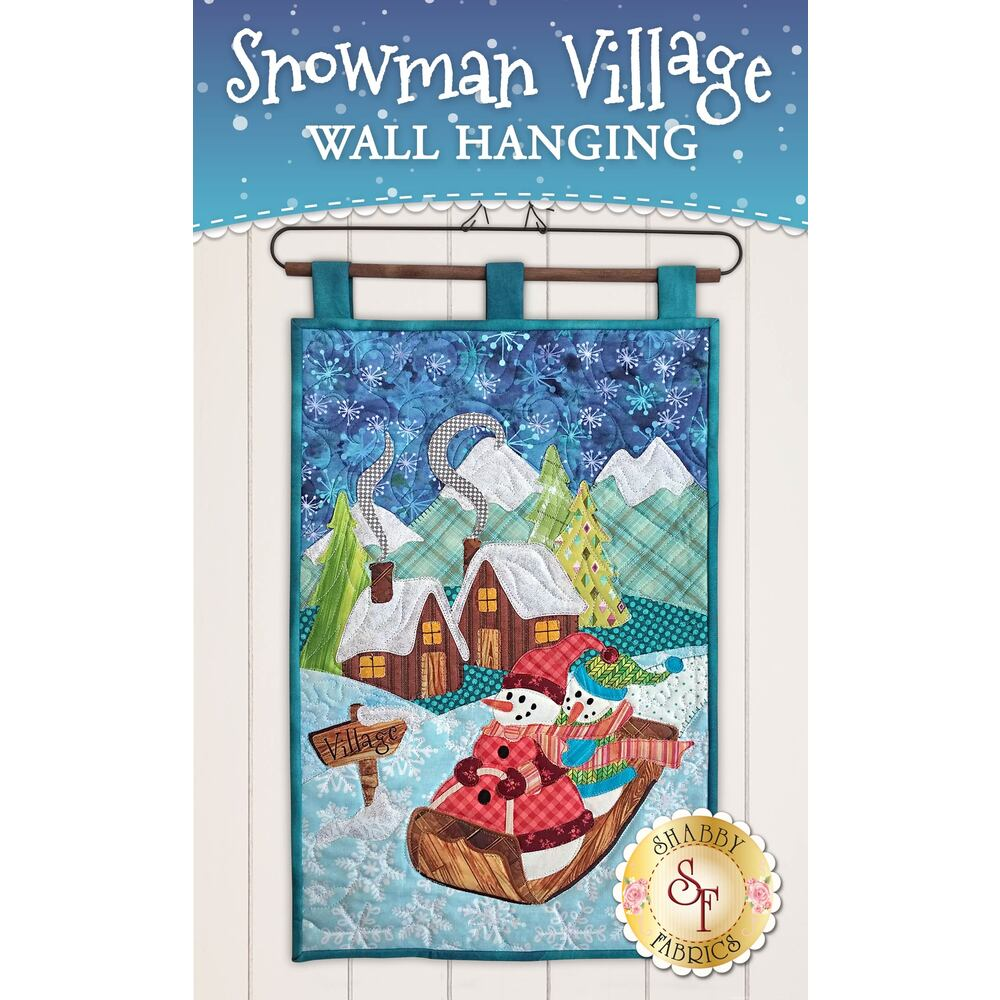Snowman Village Series - Wall Hanging - Pattern