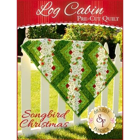 Log Cabin Pre-Cut Kit - Songbird Christmas