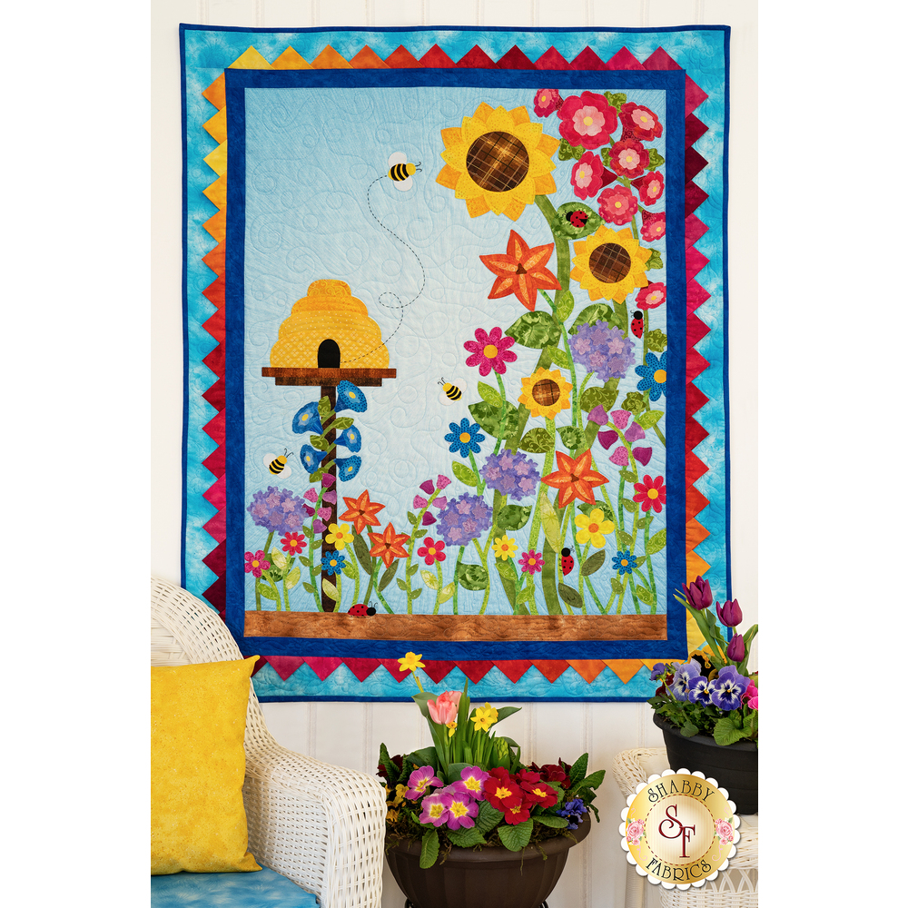 Spectacular Summer Quilt Kit - RESERVE