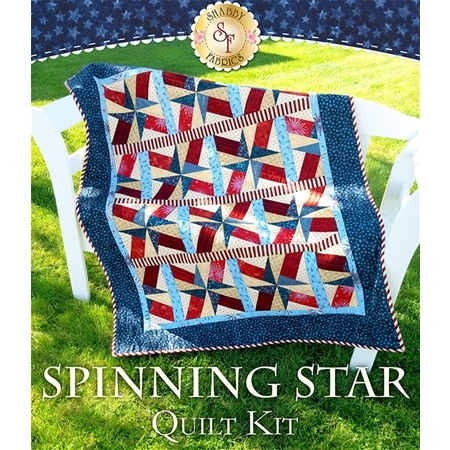 Spinning Star Quilt Kit