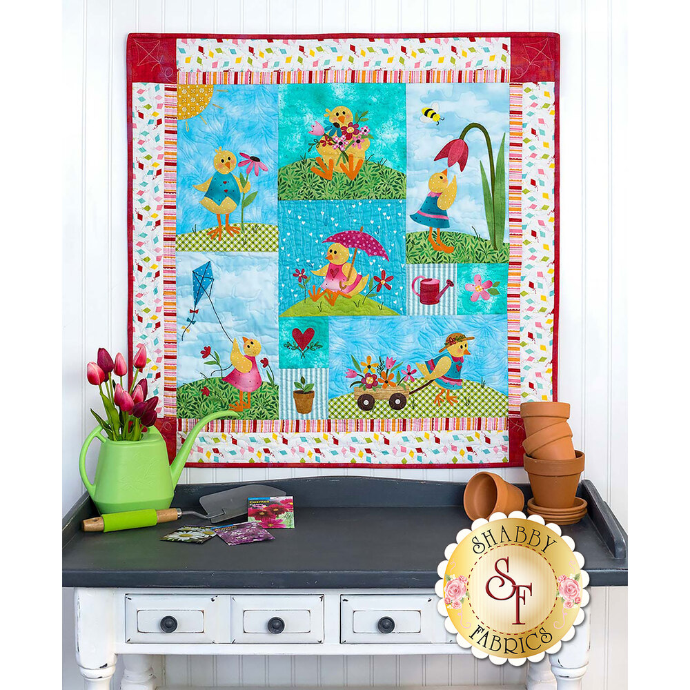 Spring Chicks Quilt Pattern