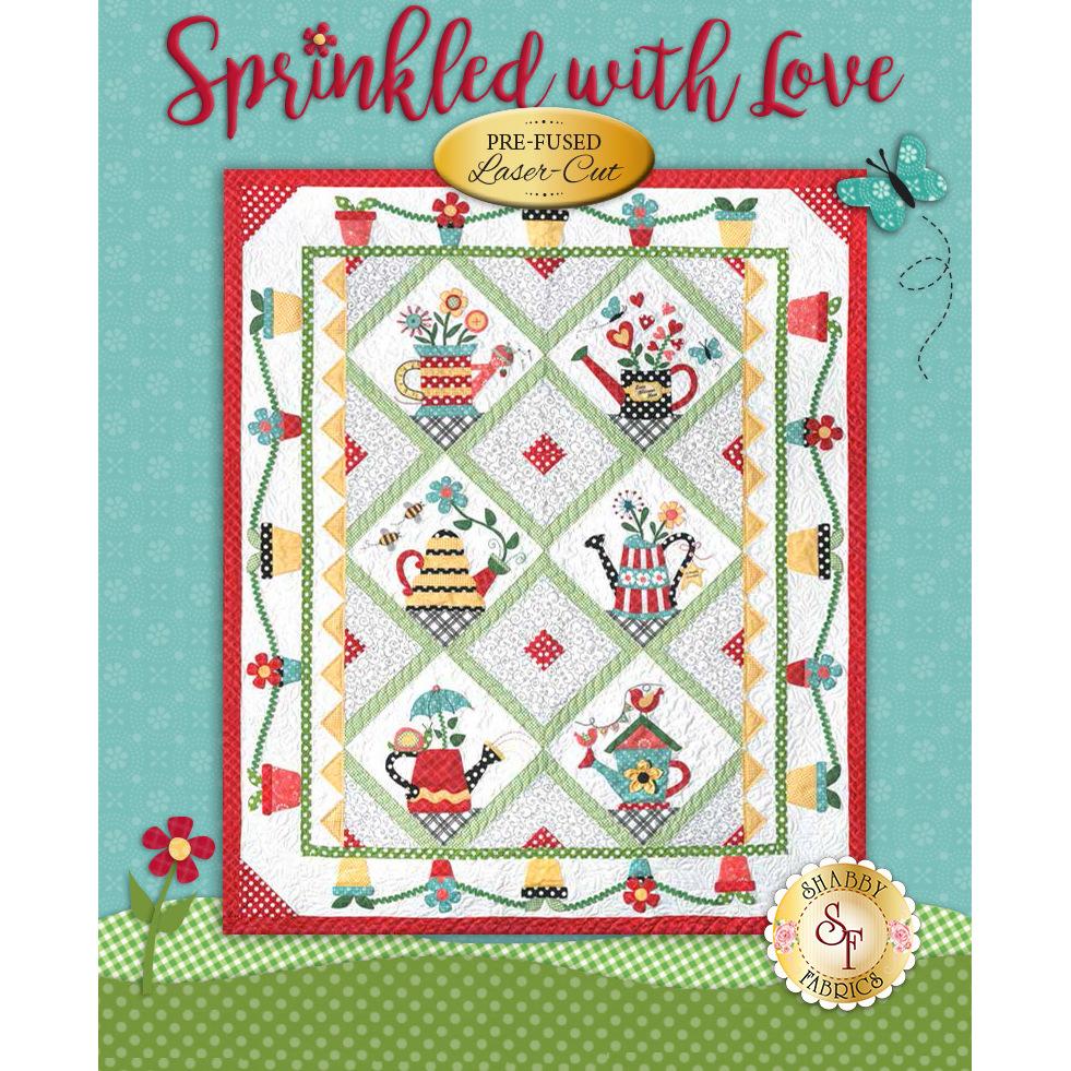 Sprinkled With Love Quilt Kit - Laser-Cut