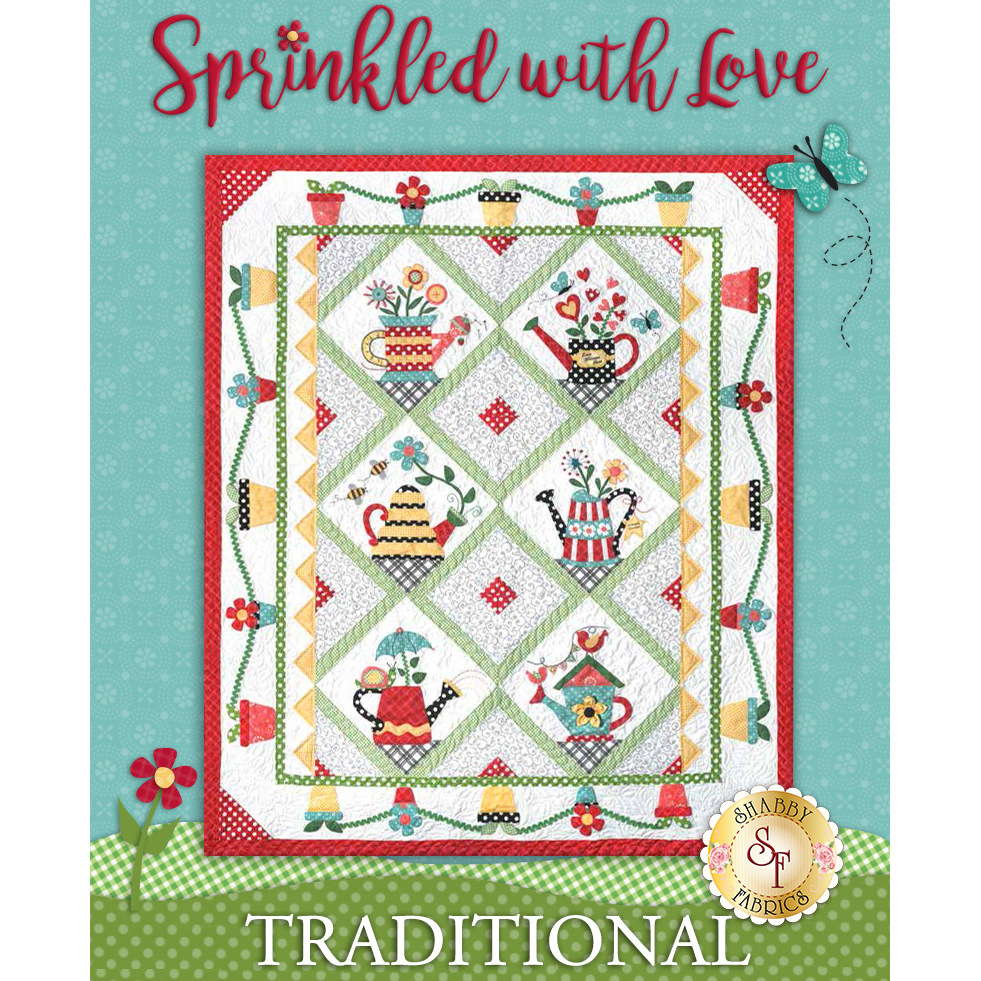 Sprinkled With Love Quilt Kit - Traditional