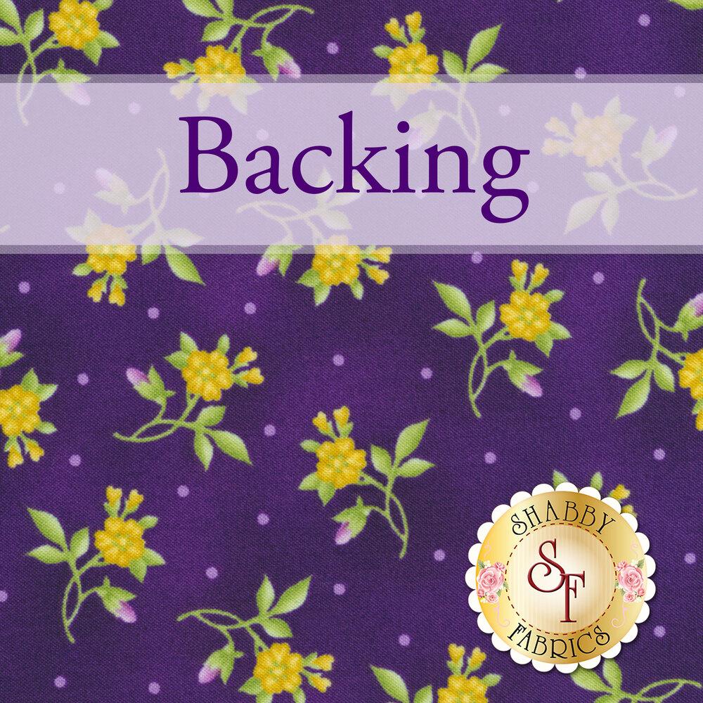 Star Garden Quilt - Emma's Garden Kit Backing - 5yds