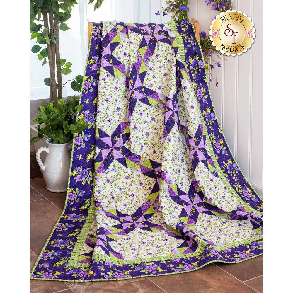 Star Garden Quilt Kit - Emma's Garden